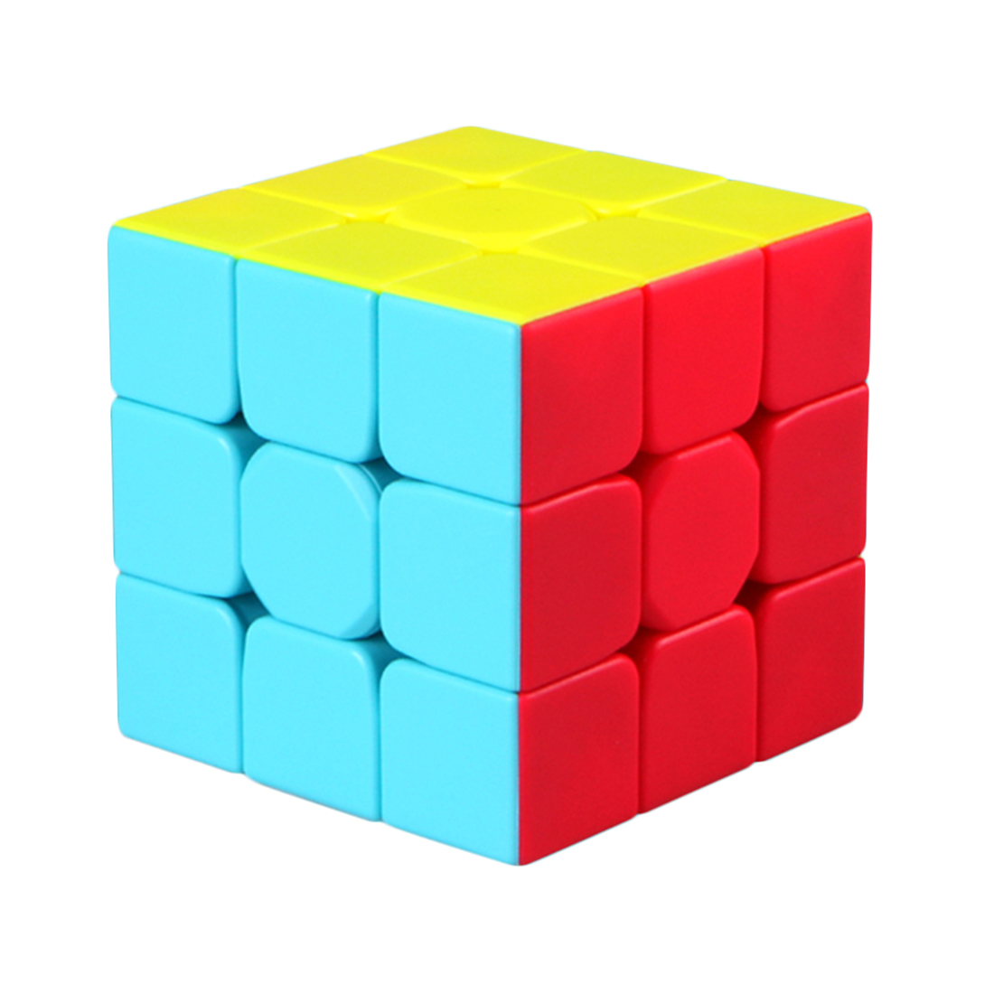 New Qiyi Mofangge Warrior W  5.7cm 3*3*3 Speedcube Vivid Color Scheme 2019 Kids Small Gift