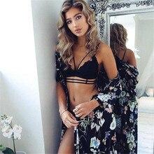 Hot sale Sexy Women Bra Set Fashion Lace Floral Bralette Bralet Bra