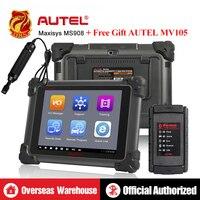 Autel MaxiSys MS908 OBD2 Сканер ключевой программист автомобильные инструменты программатор ЭБУ OBD OBDII диагностический инструмент Авто диагностическ