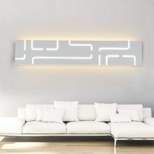 LED duvar lamba, Modern Minimalist koridor merdiven lambası çalışma yatak odası arka plan başucu lambası banyo LED ayna duvar lambası