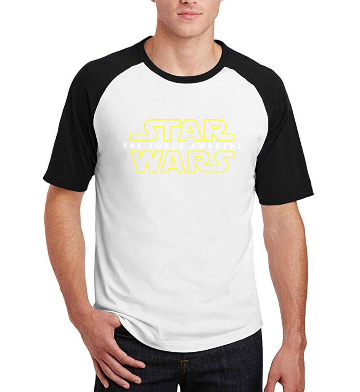 2019 summer raglan hip-hop mma camisetas star wars  fitness t shirt men cotton casual short sleeve star wars clothing tee shirts