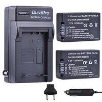 2pcs DMW BMB9 DMW BMB9E DMW BMB9 Battery Car Charger For Panasonic Lumix DMC FZ40K FZ45K