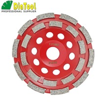 цена на 5/125mm Diamond  double row Grinding Cup Wheel for granite and hard material, bore 22.23mm with 16mm washer