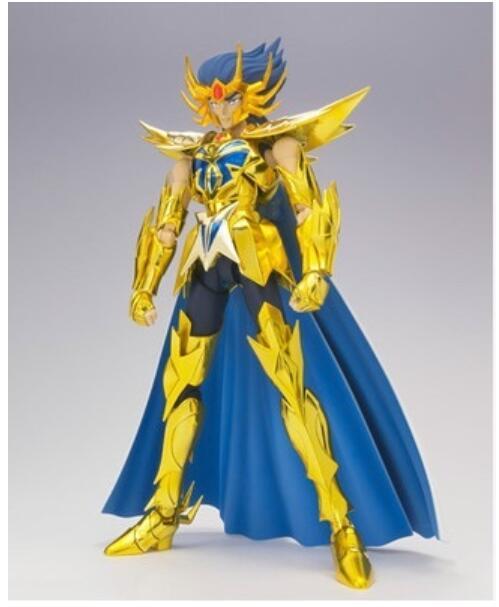 Masque de mort, tissu doré, modèle MC SAINT SEIYA, EX-Cancer, figurine d'action, cavaliers du zodiaque W20