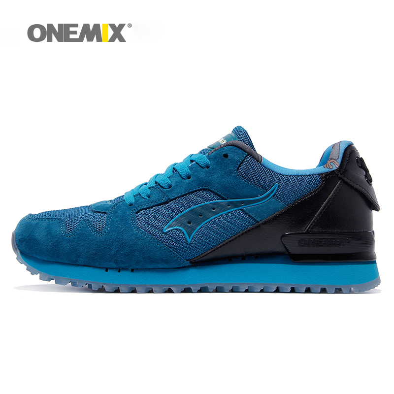 купить Onemix men classic retro running shoes lightweight sneakers for outdoor sports walking sneakers jogging trekking shoes for men по цене 2662.78 рублей