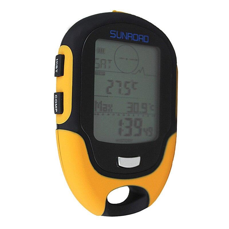 altímetro bússola digital barômetro portátil ao ar