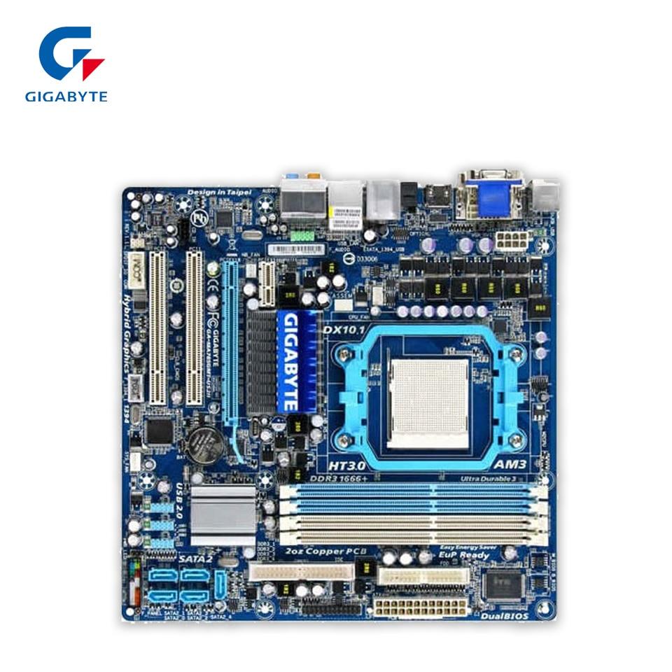 Gigabyte GA-MA785GMT-US2H Original Used Desktop Motherboard MA785GMT-US2H 785G Socket AM3 DDR3 SATA2 USB2.0 Micro ATX gigabyte ga ma770 es3 original used desktop motherboard amd 770 socket am3 ddr2 sata2 usb2 0 atx