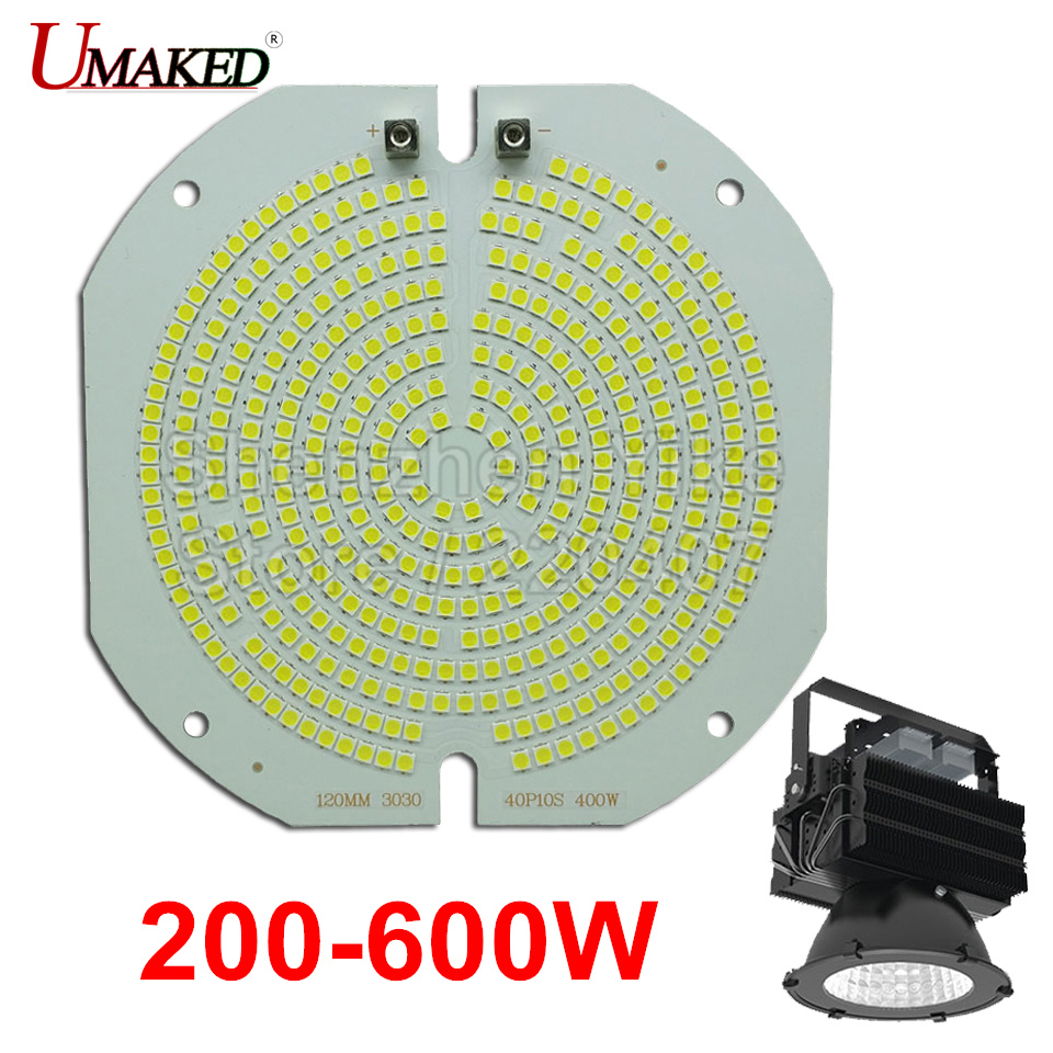 купить 2PCS 100% Full Power LED Tower light PCB 200W 300W 400W 500W 600W SMD3030 led PCB board,Aluminum plate for led tower chandelier по цене 1952.21 рублей