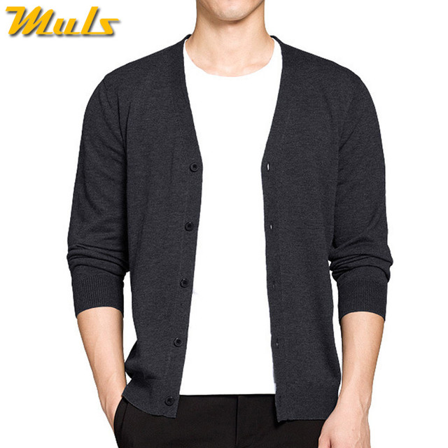 8 Colros Wolle Strickjacke männer pullover herbst frühling v-ausschnitt  herren pullover woll männlichen strickjacken d8e34d2b47