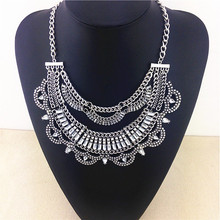 Multi-layer Winding Design Fashion Necklace Restoring Ancient Ways For 2015 Hot Sale Statement Necklace & Pendants Cheap Price