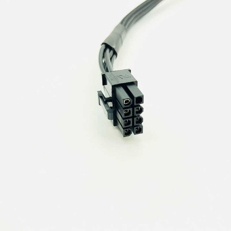PCI Express GPU 8pin için Çift 8 (6 + 2) pin Güç Kablosu Grafik Kartı 8pin için 1 2 Güç Kablosu Için Corsair RM650X RM750X RM850X RM1000X