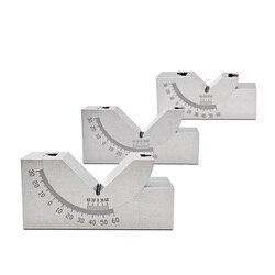 Miernik sinusoidalny z regulowanym kątem miernik nachylenia szlifierki precyzyjny kątownik regulowany Pad 0 60 stopni przyrząd pomiarowy w Kątomierze od Narzędzia na