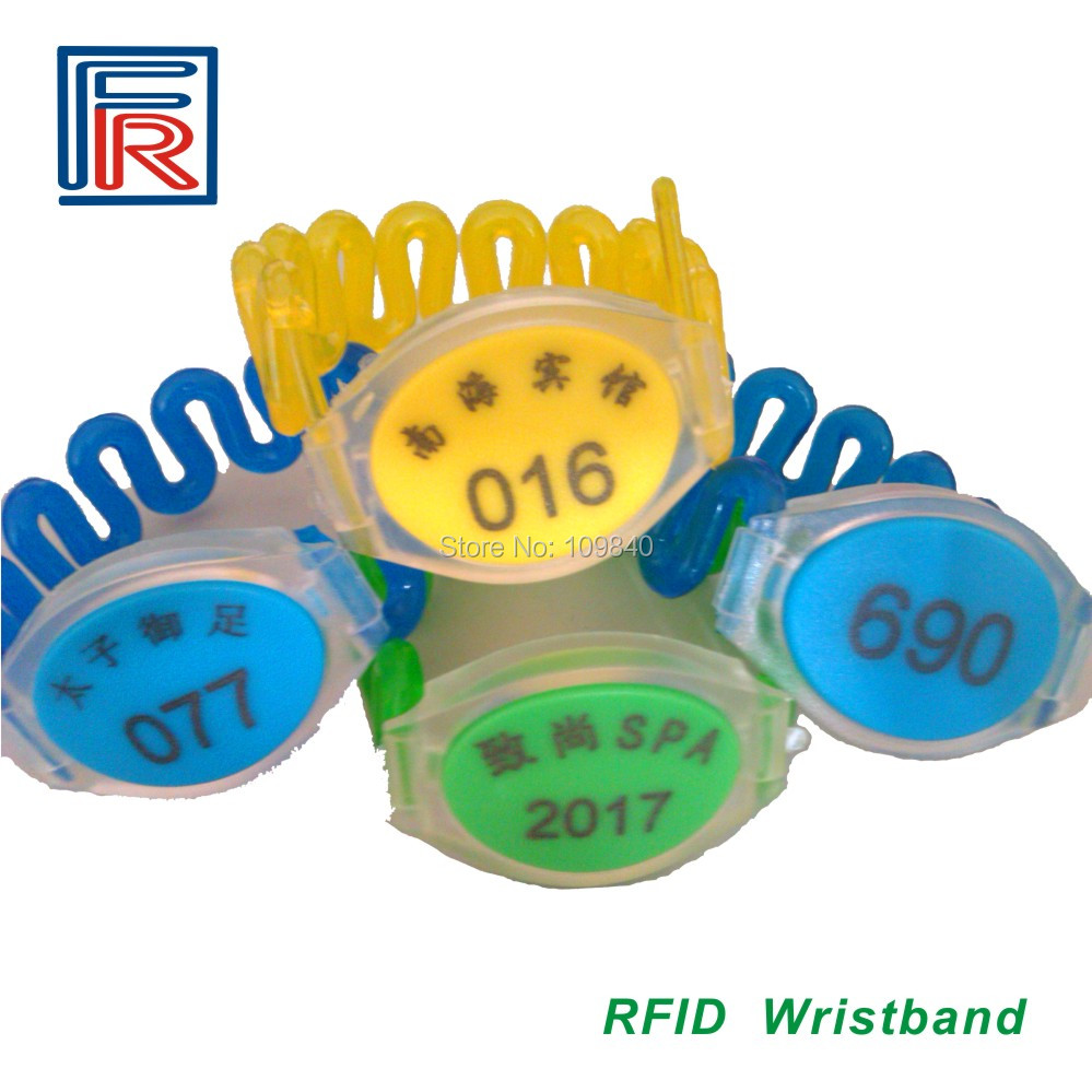 Waterproof NFC Wristband Classic 1K RFID 13.56MHz IC ABS Watch Bracelet for Access Control HealthCare eTicketing Tag 125khz rfid abs wristband with em4305 chip lf waterproof abs rewritable bracelet for events nfc access control 500pcs lot