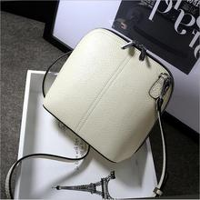 Neueste Mode Retro Vintage frauen Shell Handtaschen aus echtem Leder Damen Messenger bags Umhängetaschen umhängetaschen