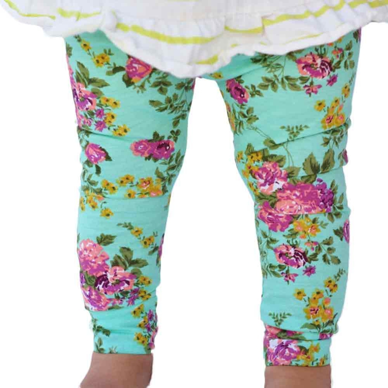 Cute Bohemia Spring Summer Baby Girl Floral Bottom Pencil ...