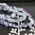 """wholesale 34""""/87cm 4x6mm natural fluorite chips loose beads diy necklace bracelet necklace making jewelry craft findings"""