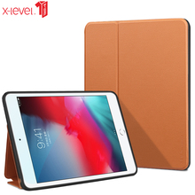 цены на X-level Book Leather Flip Cases For Apple Ipad Air 10.5 2019 Ultra Thin Luxury Business Leather Smart Cover Case For Ipad Air 3  в интернет-магазинах