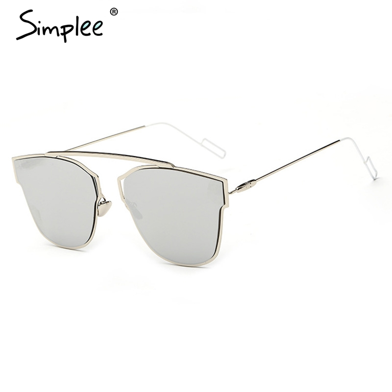 Simplee Chic geometry photochromic sunglasses women Vintage colorful ...