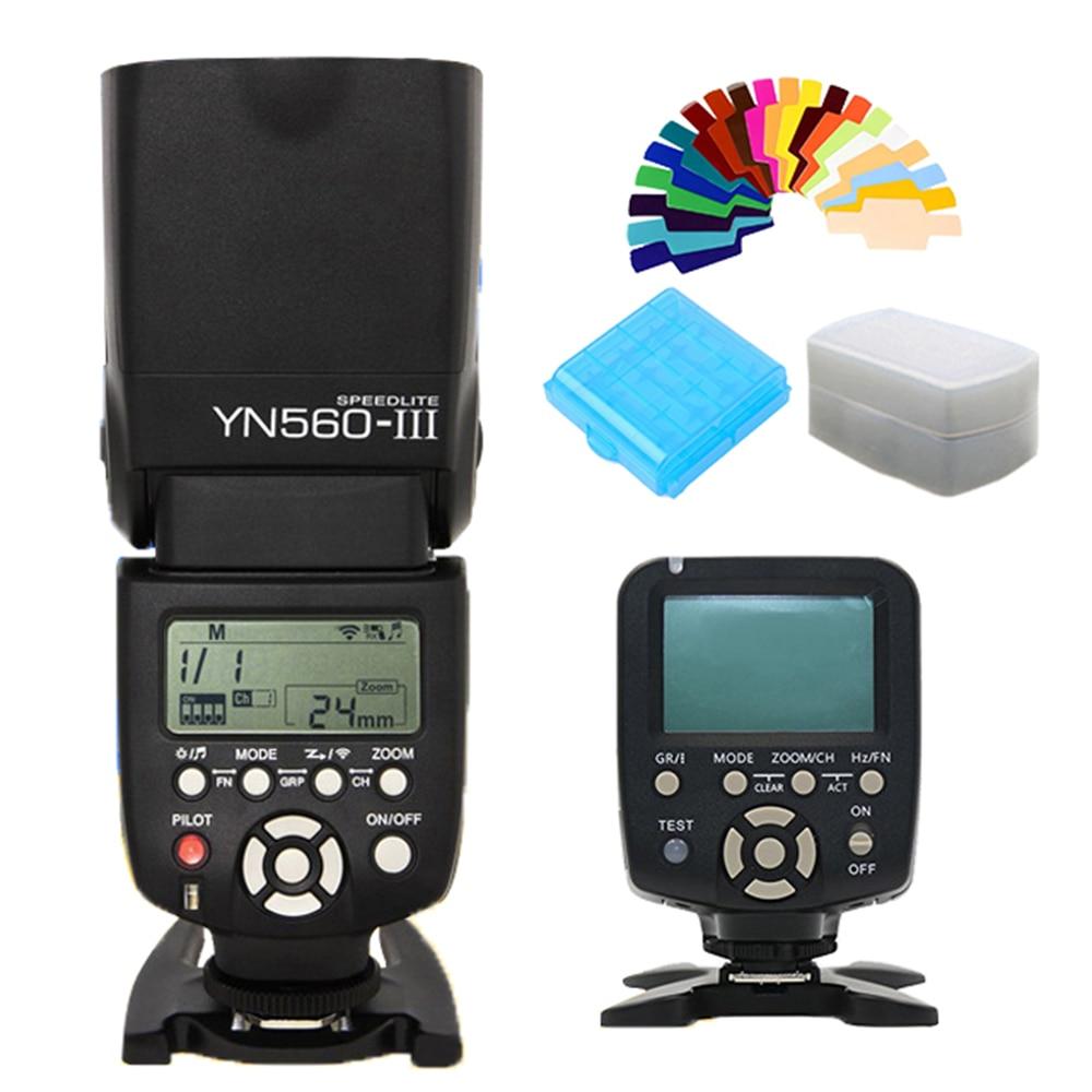 YONGNUO YN560III YN-560III YN560 III YN560-III Speedlite Wireless Flash + YN-560TX LCD Flash Controller YN560 TX for Nikon CanonYONGNUO YN560III YN-560III YN560 III YN560-III Speedlite Wireless Flash + YN-560TX LCD Flash Controller YN560 TX for Nikon Canon