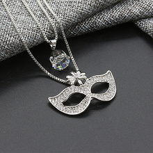 2016 New Women's Choker Chain Lady Chunky Snowflake Butterfly Crystal Tassel Sweaters 19 Kinds Pendant Chic Necklace Jewelry