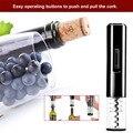 Черный цвет портативный размер K1 сухой батарейный дизайн Электрический открывалка для бутылок автоматическое Домашнее использование откр...