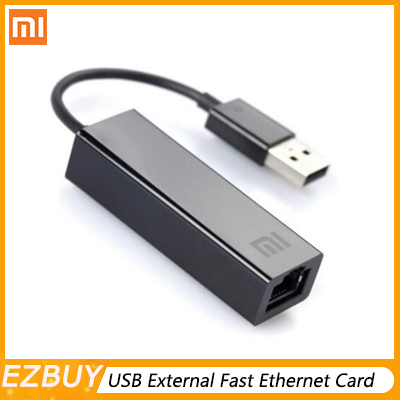 Original Xiaomi USB External Fast Ethernet Card Mi USB2.0 To Ethernet Cable LAN Adapter 10/100Mbps Network Cards For Laptop