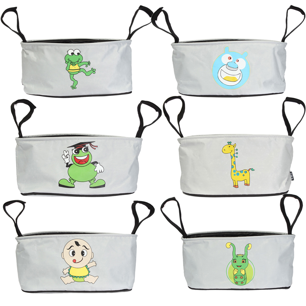 Bag Stroller Accessories 35x16x13 CM Large Capacity Baby Car Stroller Organizer Carriage Infanette Bag