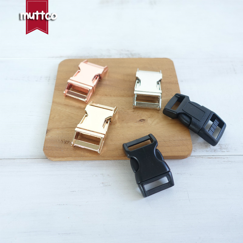 DIY Accessories For Dog Collar 2.0cm Webbing  Manufactures Diy Backpack Zinc Alloy Pet Metal Buckle 6 Kinds