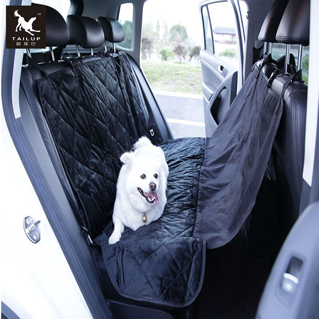 TAILUP Pet Seat Quilted Covers Car Trunk Cover For Small Large Dogs Waterproof Hammock Travel