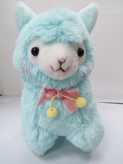 Hot 17cm Janpanese Animal Plush Toy Alpaca Vicugna Pacos Lama Arpakasso Alpacasso Soft Stuffed Plush Doll Toy Christmas Gift