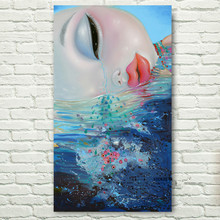 Yang Na weeping girl Big Eyes Baby Personalized Figure Paintings Modern Oil Paintings On Canvas Wall Art Decor Picture Gifts 03