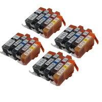 PGI-525 CLI526 cartucho de tinta compatible para canon PIXMA IP4850 IP4950 IX6550 MG5150 MG5250 MG5350 MX715 MX885 MX895 impresora