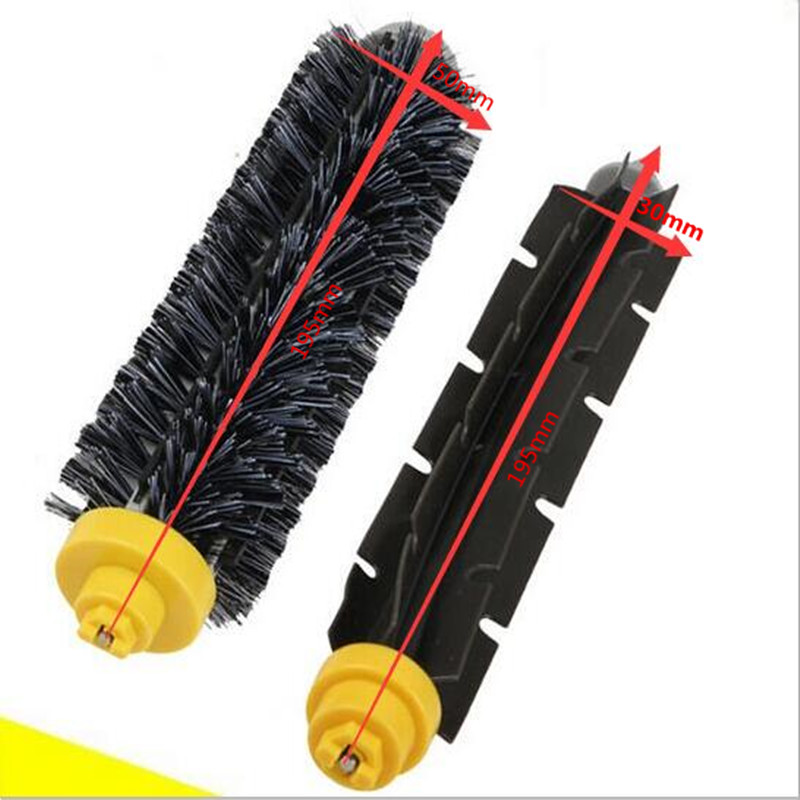 1pc Original Bristle Brush For 620 630 650 760 770 780 790 Robot Vacuum Cleaner Brushes Parts 4pcs karcher steam cleaner parts brass bristle brush for sc2500 sc1020 sc1002 sc1 sc2 sc4 sc5 sc5800 k1501 de4002 k1102 k1405