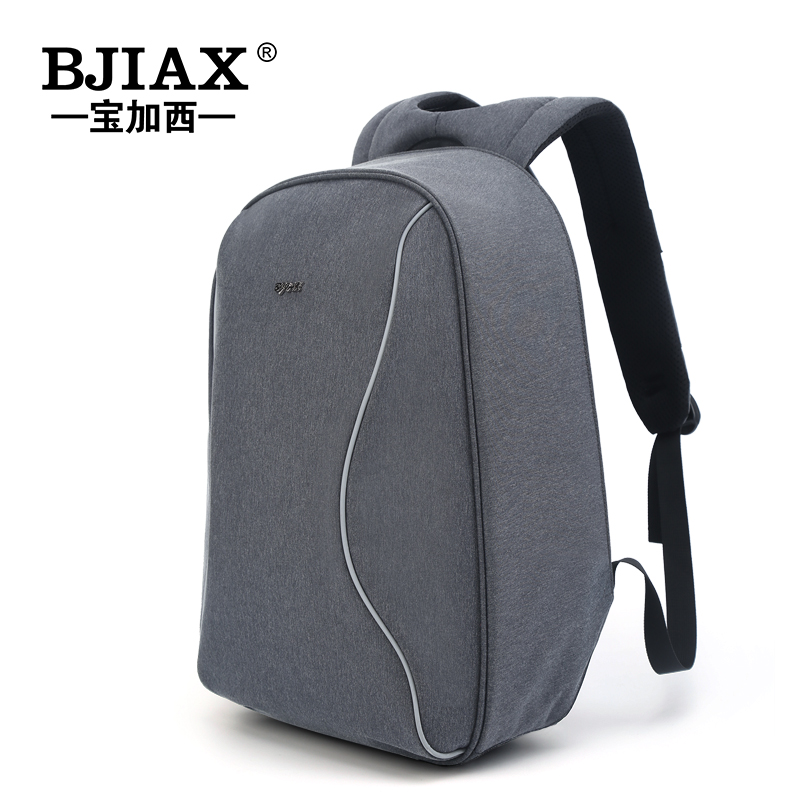 BJIAX 2017 Anti-theft 14 inch Backpack Travel Large Bag School Bag For Girls And Boy Casual Mochila Bag Men Fashion kingsons external charging usb function school backpack anti theft boy s girl s dayback women travel bag 15 6 inch 2017 new