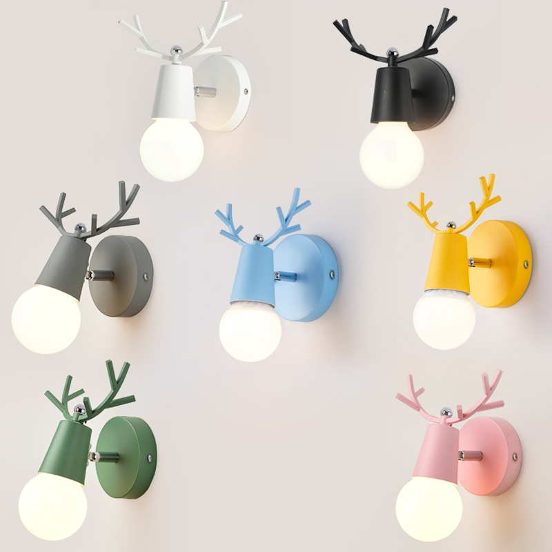 Led Indoor Wall Lamps Steady Deer Antler Wall Lamps 6w Led Modern Wall Lights Fixture Home Indoor Lighting Restaurant Cafes Pub Club Corridor Stair Way Lamps