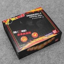 7pcs/set Dragon Ball Z Figure orange / Blue Dragon ball 3.5cm crystal ball Model Toy chirstmas gift