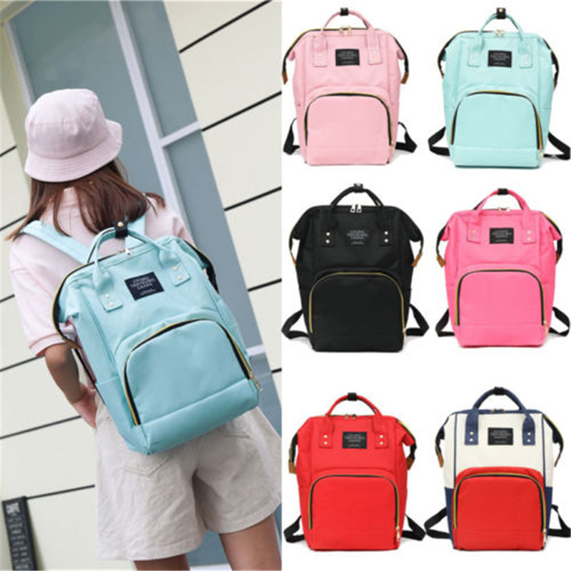 Mommy Diaper Bag Large Capacity Baby Nappy Maternity Travel Backpack Tote Diapering Toilet Training Diaper Bags New Arrival Hot