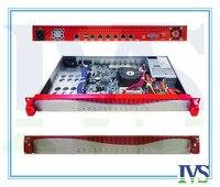 Высококлассные Al Передняя панель 1U 6 GbE Lans маршрутизатор/сервер брандмауэра VOIP системы с 2ets обход функция