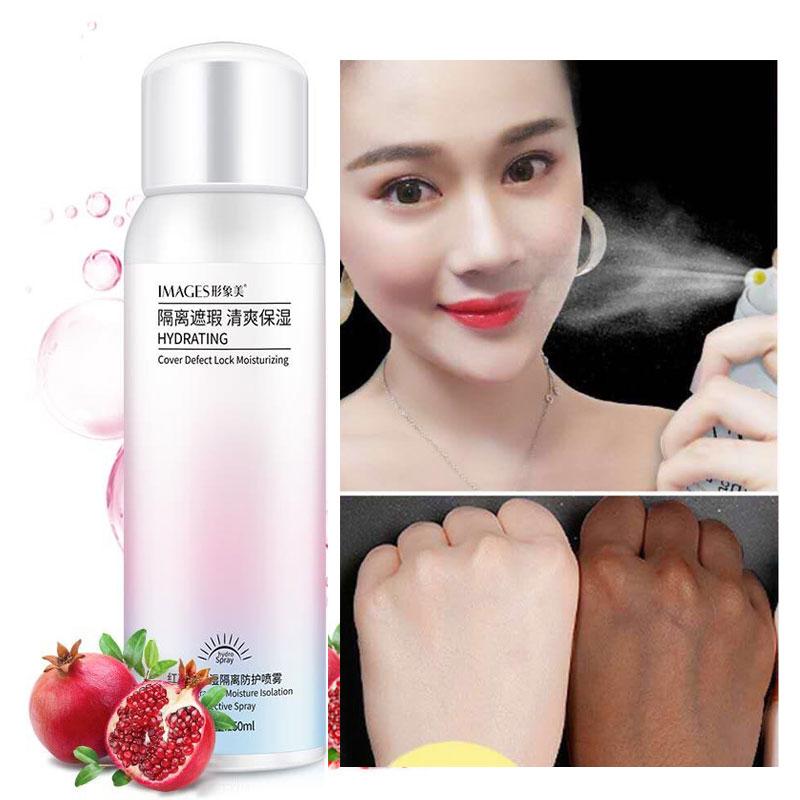 150ML Red Pomegranate Sunblock Cream Whitening Sunscreen Crema Protetor Solar FACE BODY SPF50  Skin Whitening Spray