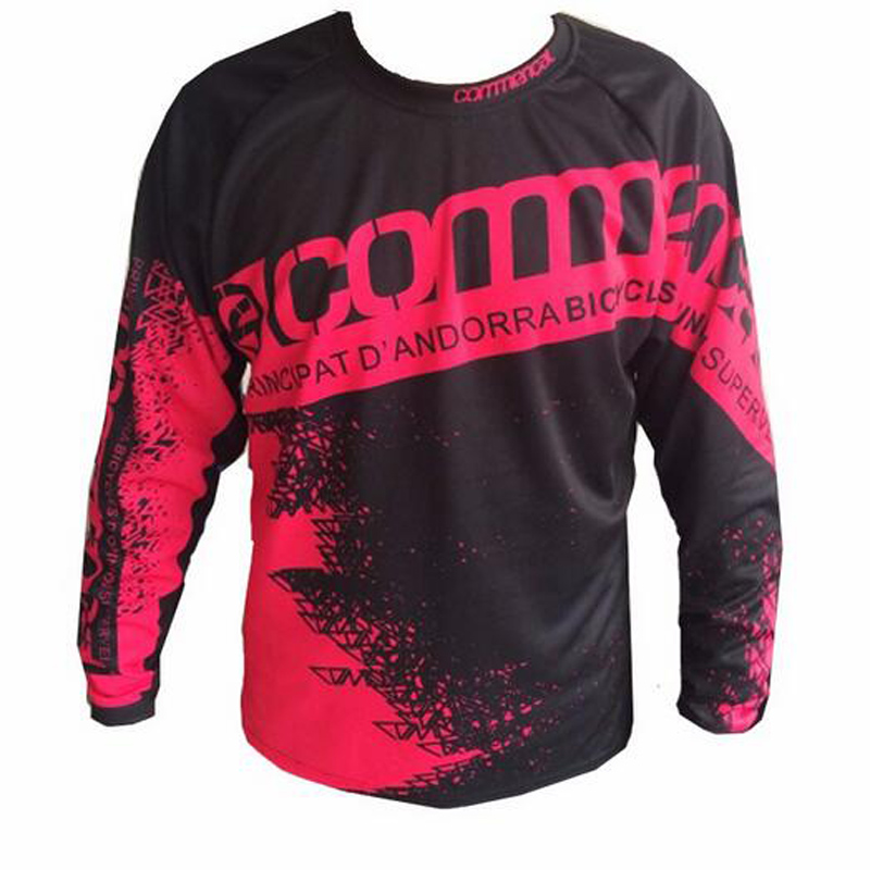 2017 Speed Mountain run shirt Riding Jersey Equipment Surrender Commencal Watchdog Speed Dry Riding Off-road Long Sleeved