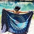 Durable  Beach towel Bikini Boho Summer Dress Swimwear Bathing Suit Kimono Tunic Beach Cover Up  from india