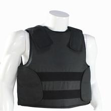Colete à prova de balas ocultável com saco de transporte corpo da polícia armadura nij iiia nível proteção 44 magnum 9mm jaqueta à prova de balas