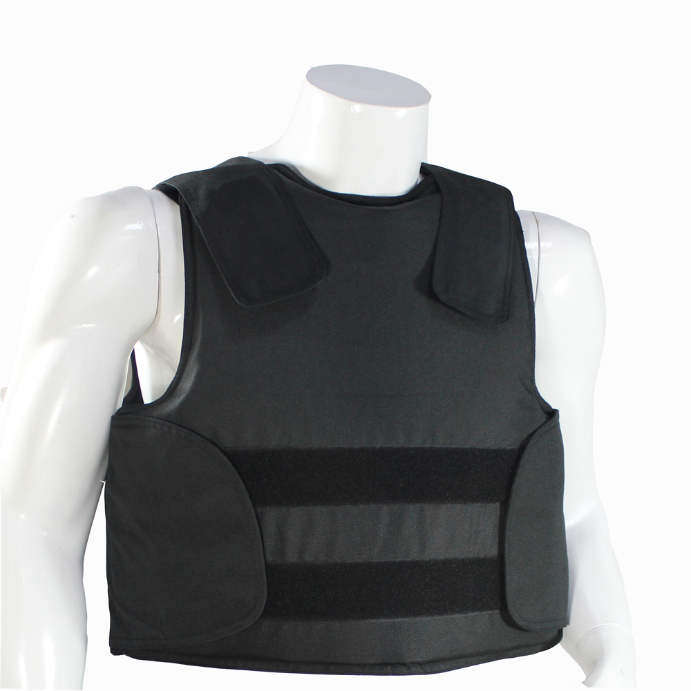 Concealable Kevlar Bulletproof Vest with Carrying Bag Police Body Armor NIJ IIIA Protection Level Size M