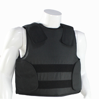 Concealable Bulletproof Vest with Carrying Bag Police Body Armor NIJ IIIA Protection Level 44 magnum 9mm bulletproof jacket