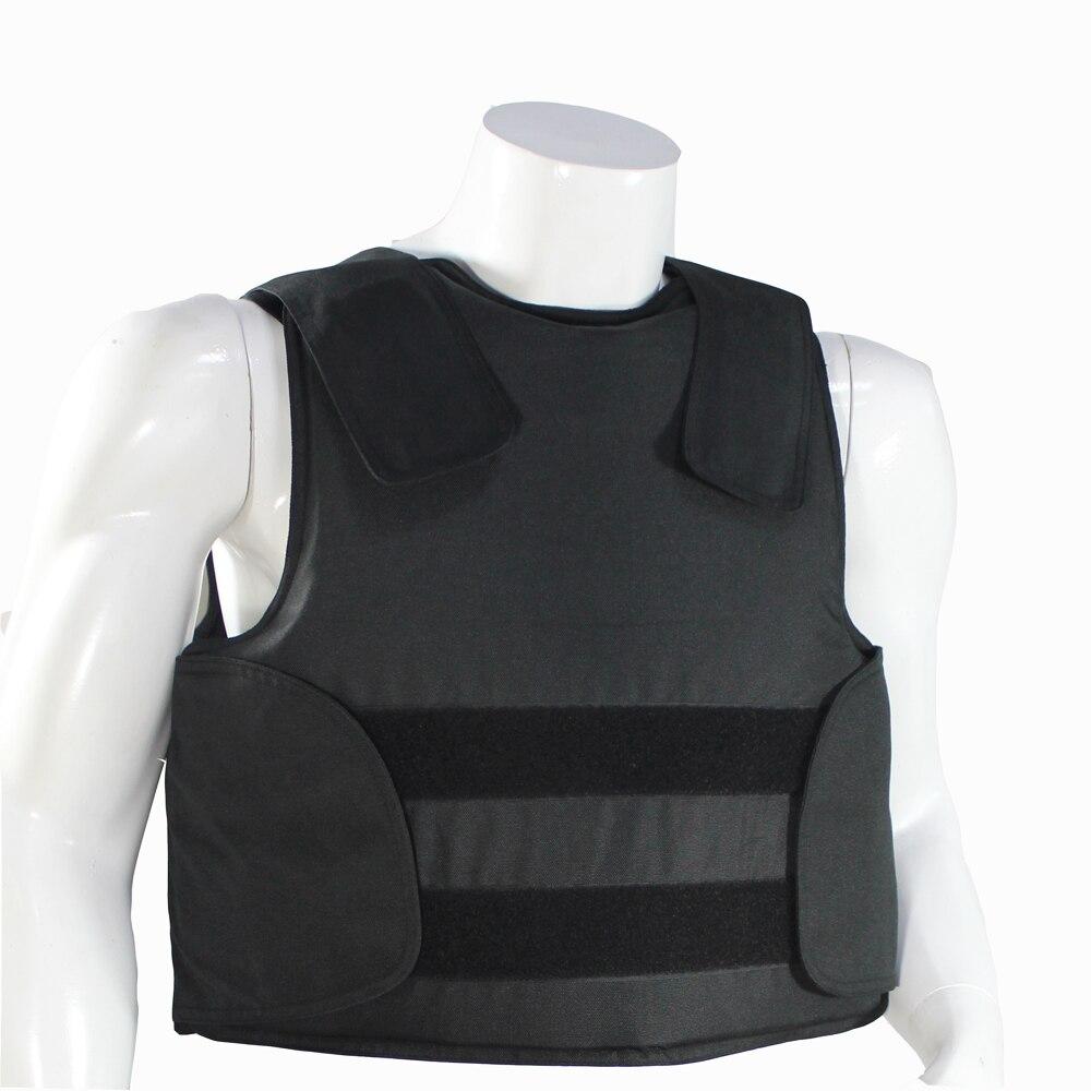 Occultabile Giubbotto Antiproiettile con il Livello di Protezione Borsa Per Il Trasporto Della Polizia Body Armor NIJ IIIA 44 magnum 9mm giacca a prova di proiettile