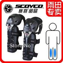 Мода мотоциклистов защитное снаряжение Scoyco k11 колена twinset мотоцикл коленной чашечки kneepad велосипед Moto racing наколенники