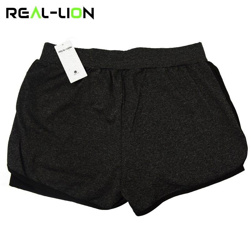 RealLion 2 In 1 futó rövidnadrág női rövidnadrág jóga rövidnadrág tornaterem edzés fitnesz sport nadrág női rövid sportruházat