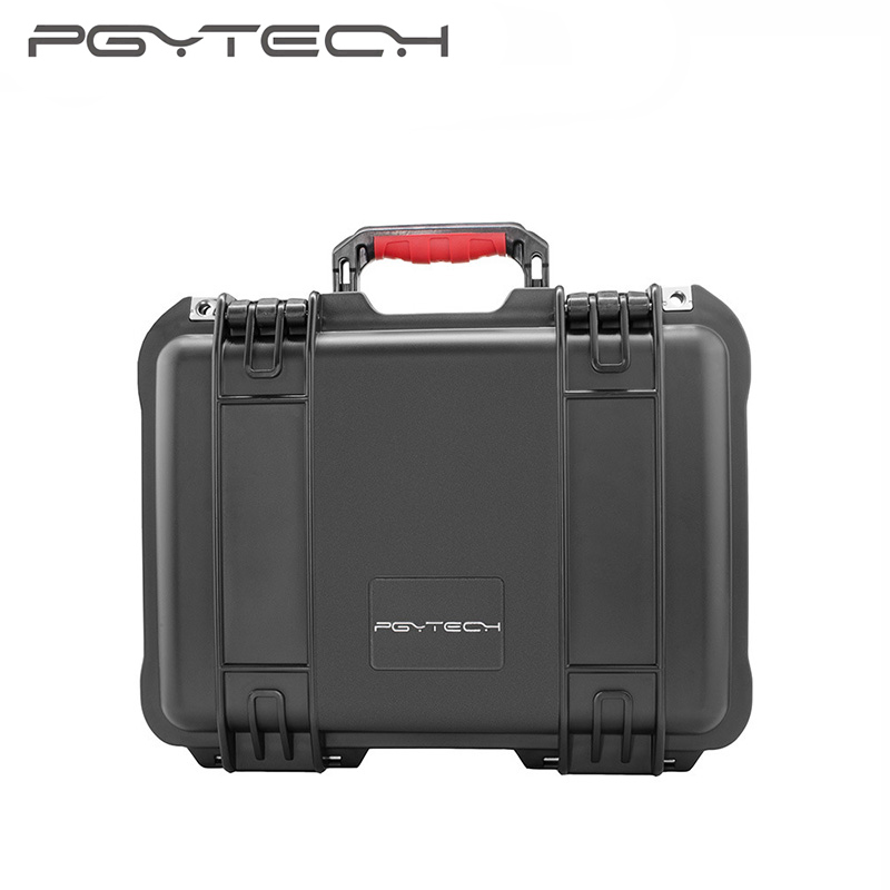 PGYTECH DJI Spark Case Suitcase Explosion-proof Travel transport portable safety box Storage Case Bag for DJI Spark accessories safety transport travel hardshell drone case for dji goggles vr glasses mavic pro bag for dji spark box storage accessories