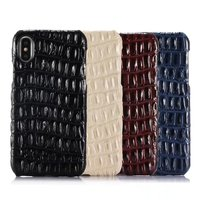 4Color For Iphone X 5 8 Back Cover Real Natural Cow Skin Genuine Leather Cowhide Phone