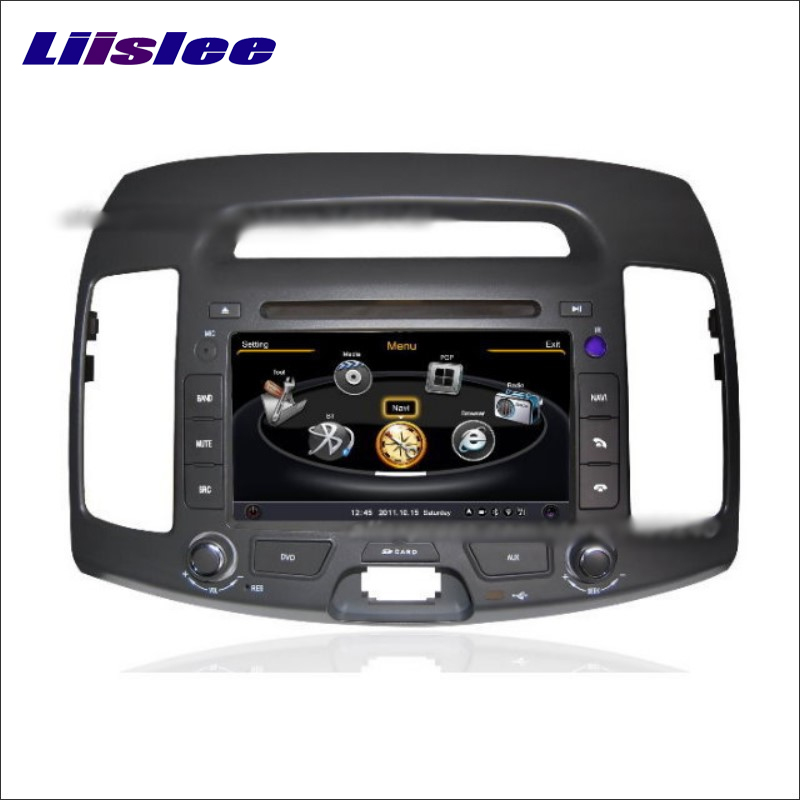 Liislee для Hyundai Avante 2007 ~ 2010 Радио CD dvd-плеер стерео ТВ Ipod HD Экран GPS nav Navi Географические карты навигация Мультимедиа Системы